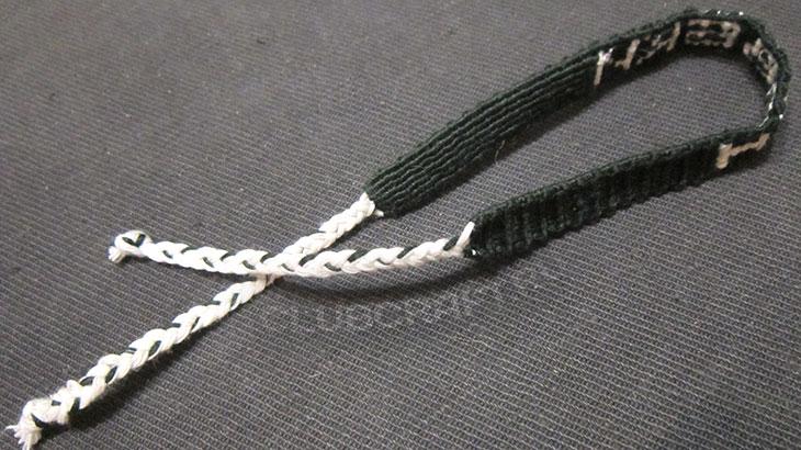 Подвязки сплетены