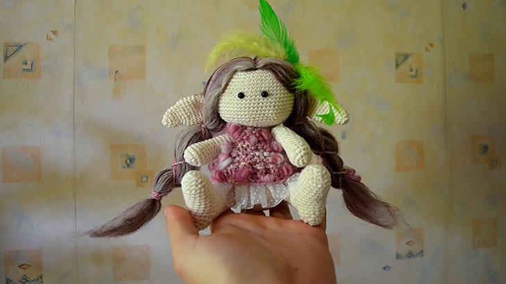Второй варианты куклы