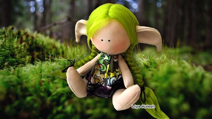 Кукла Лии Лочмеле