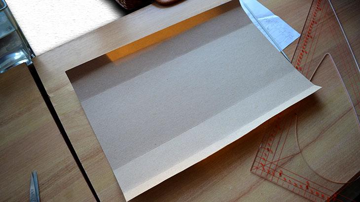 Сгибы картона