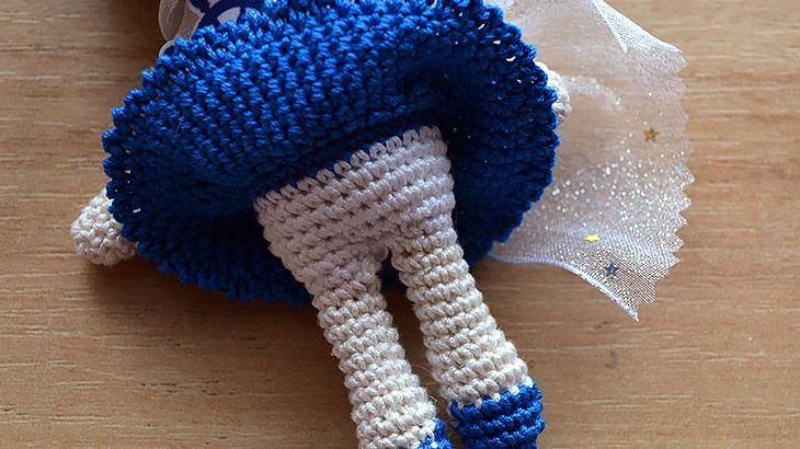Синяя юбочка