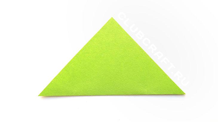 Бумажный треугольник
